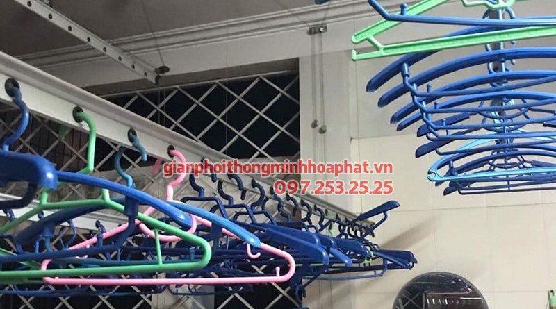 Sửa chữa giàn phơi thông minh Đống Đa nhà chị Hà ở chung cư 165 Thái Hà