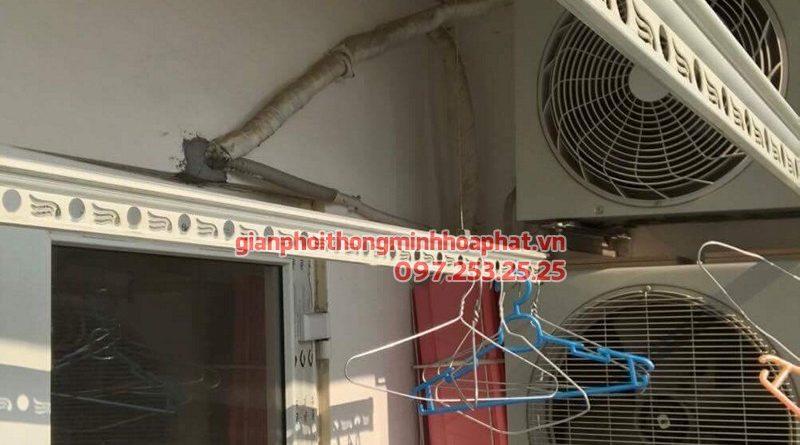 Sửa giàn phơi thông minh Hà Đông nhà chị Ngà ở chung 143 Trần Phú
