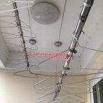 Sửa giàn phơi thông minh nhà chị Mùi ở Phú Gia Residence số 3 Nguyễn Huy Tưởng