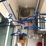 Sửa giàn phơi thông minh nhà chú Hoàng ở chung cư VP3 Linh Đàm bị đứt cáp