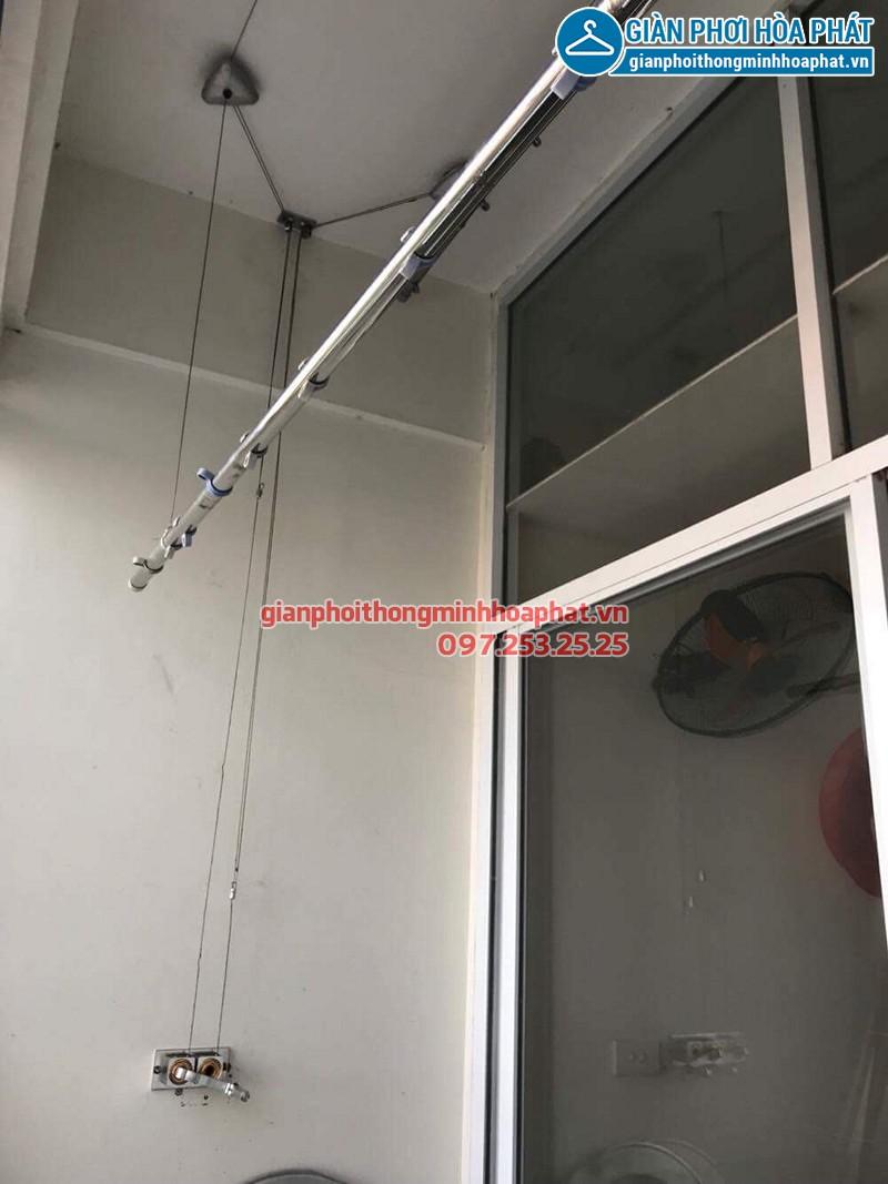 Sửa giàn phơi thông minh ở tòa C1D4 Đặng Xá nhà cô Thảo bị hỏng bộ tời