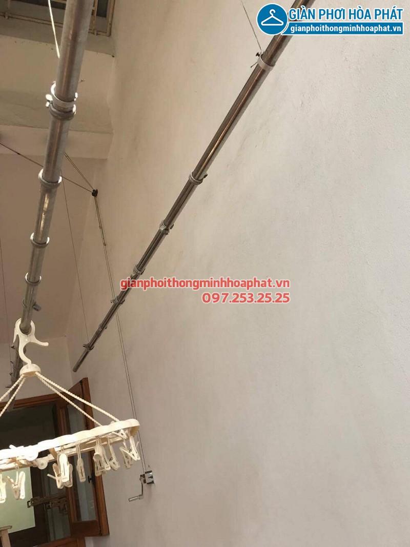 Hình ảnh thực tếsửa giàn phơi thông minh tại Thanh Xuân nhà cô Cúc - 01