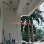 Thay dây cáp giàn phơi thông minh nhà chị Ninh ở chung cư An Lạc – Mỹ Đình