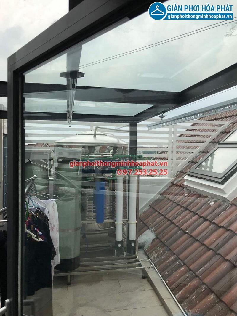 Địa chỉ bán và lắp giàn phơi thông minh Hòa Phát chính hãng ở Hà Nội