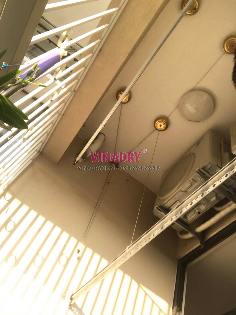 Sửa giàn phơi giá rẻ tại Gia Lâm nhà anh Hào, xã Đặng Xá - 05