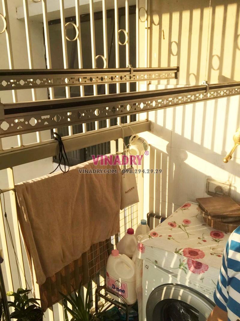 Sửa giàn phơi giá rẻ tại Gia Lâm nhà anh Hào, xã Đặng Xá - 03