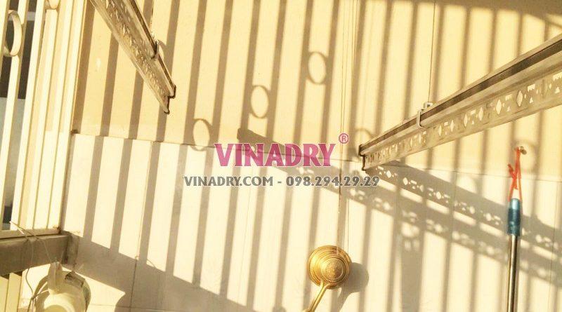 Sửa giàn phơi giá rẻ tại Gia Lâm nhà anh Hào, xã Đặng Xá - 01