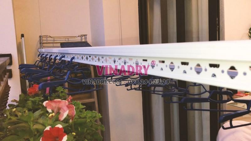 Lắp giàn phơi thông minh tại Royal City nhà chị Chi, mẫu mới 2019 - HP901 - 08