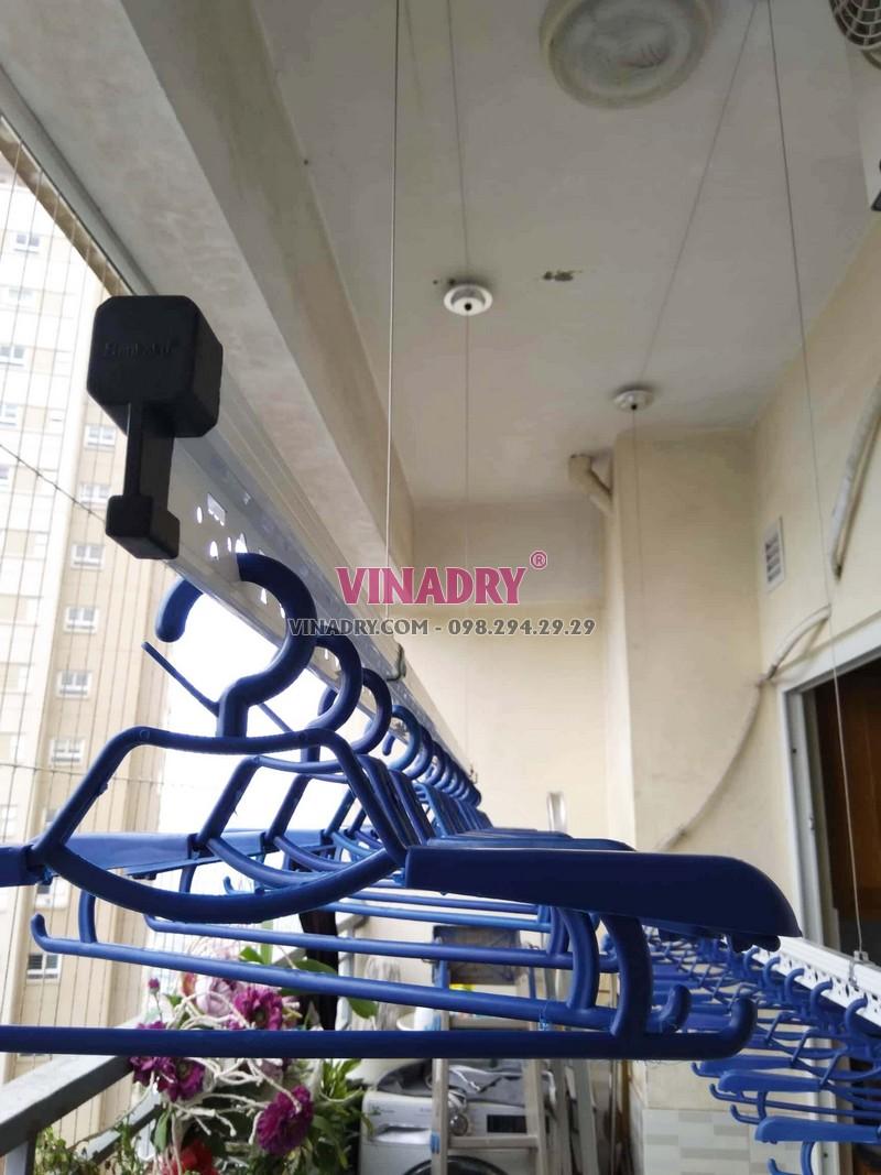 Lắp giàn phơi thông minh Hoàng Mai tại nhà anh Mạnh bộ HP701 - 02