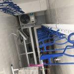 Lắp giàn phơi giá rẻ tại Hà Nội chung cư CT2 Hoàng Cầu, Đống Đa nhà chị Lan