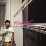 Lắp giàn phơi tự động Vinadry tại nhà chị Hương, CT1 chung cư Mỹ Đình Plaza