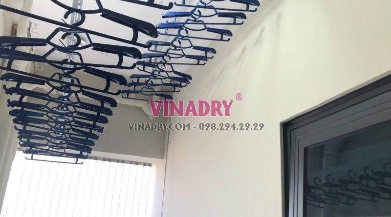 Lắp giàn phơi thông minh HP701 nhà chị Lan, chung cư C1 Xuân Đỉnh, Bắc Từ Liêm, Hà Nội - 05