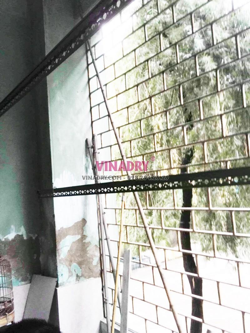Lắp giàn phơi tại Chương Mỹ, Hà Nội nhà anh Kiên, Khu TT đá Xuân Mai - 07