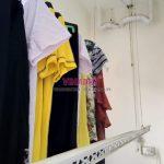 Sửa giàn phơi thông minh giá rẻ tại Hà Nội, thay dây cáp nhà chị Hoa