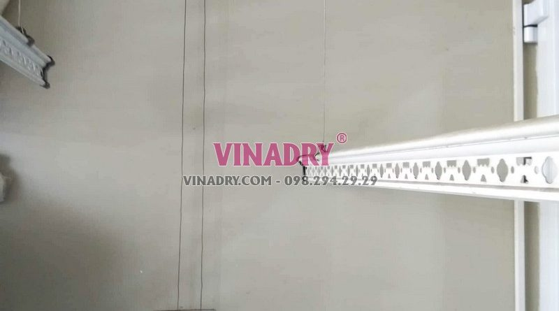 Sửa giàn phơi giá rẻ tại Cầu giấy nhà chị Lành, chung cư N04 Hoàng Đạo Thúy - 01