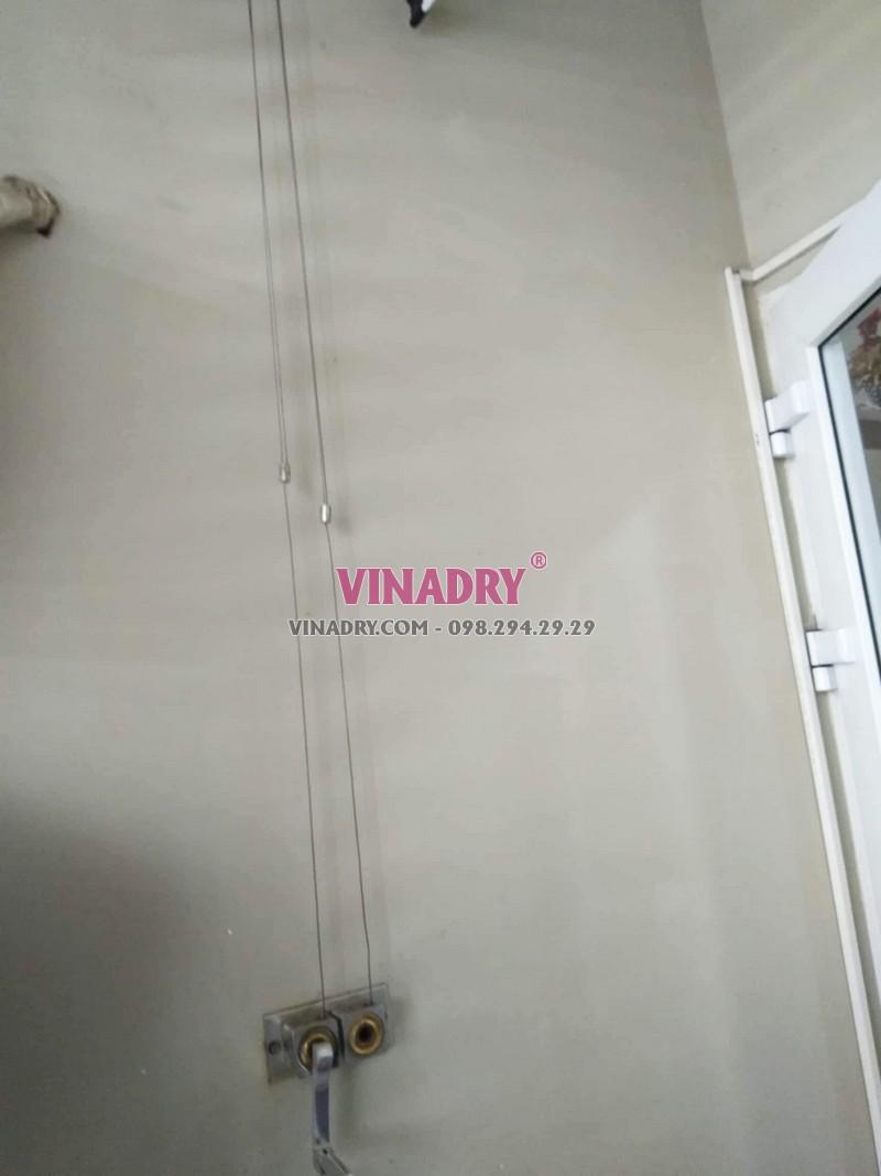 Sửa giàn phơi giá rẻ tại Cầu giấy nhà chị Lành, chung cư N04 Hoàng Đạo Thúy - 03