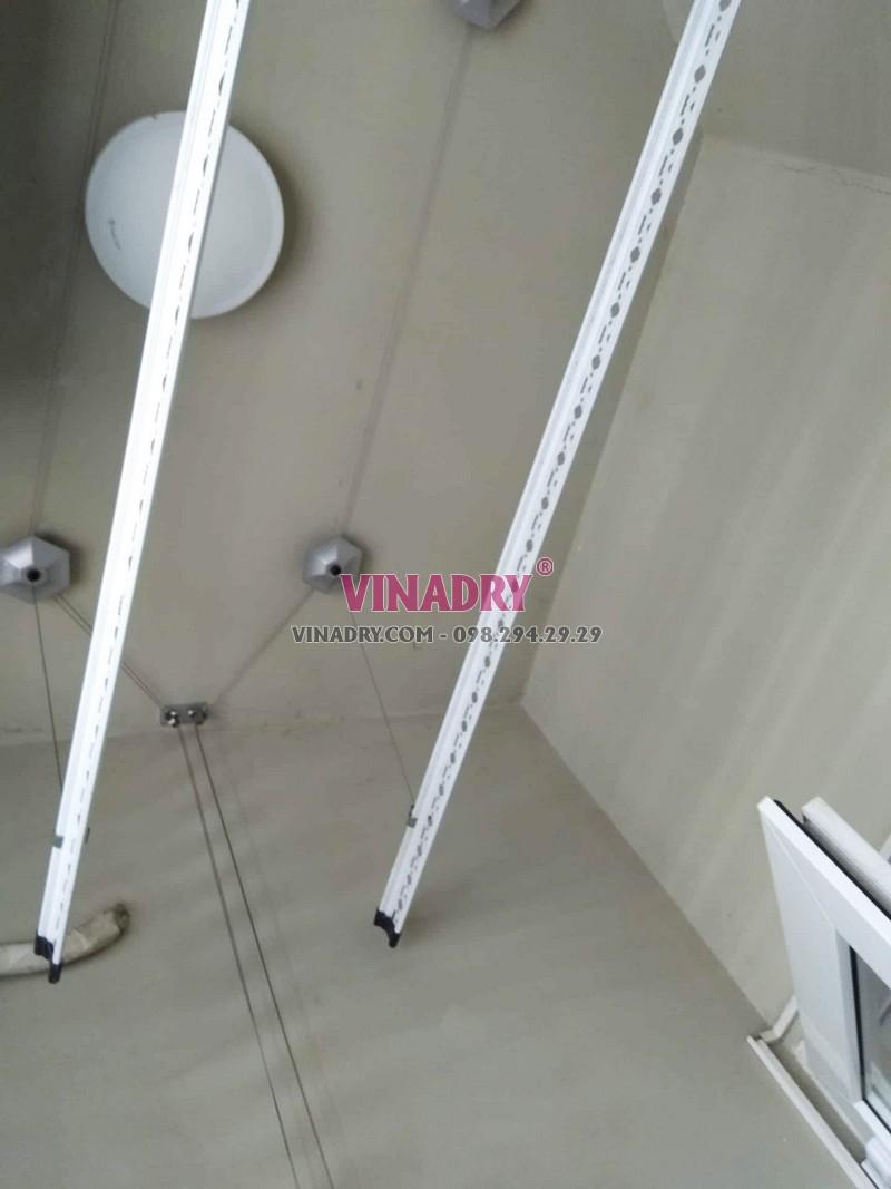 Sửa giàn phơi giá rẻ tại Cầu giấy nhà chị Lành, chung cư N04 Hoàng Đạo Thúy - 04