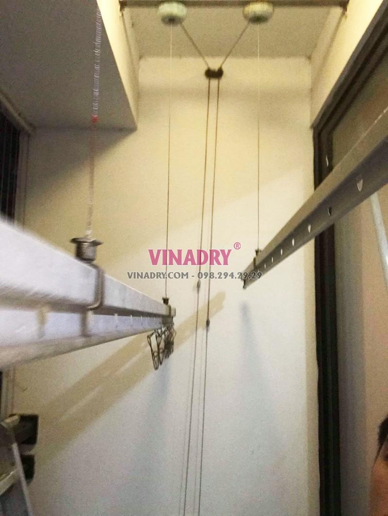 Sửa giàn phơi giá rẻ tại Times City nhà chị Hải: thay dây cáp chỉ 250k - 04