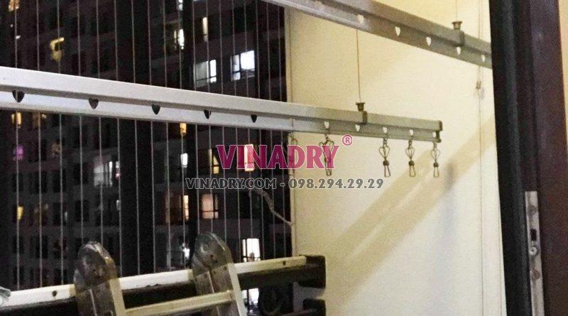 Sửa giàn phơi giá rẻ tại Times City nhà chị Hải: thay dây cáp chỉ 250k - 07