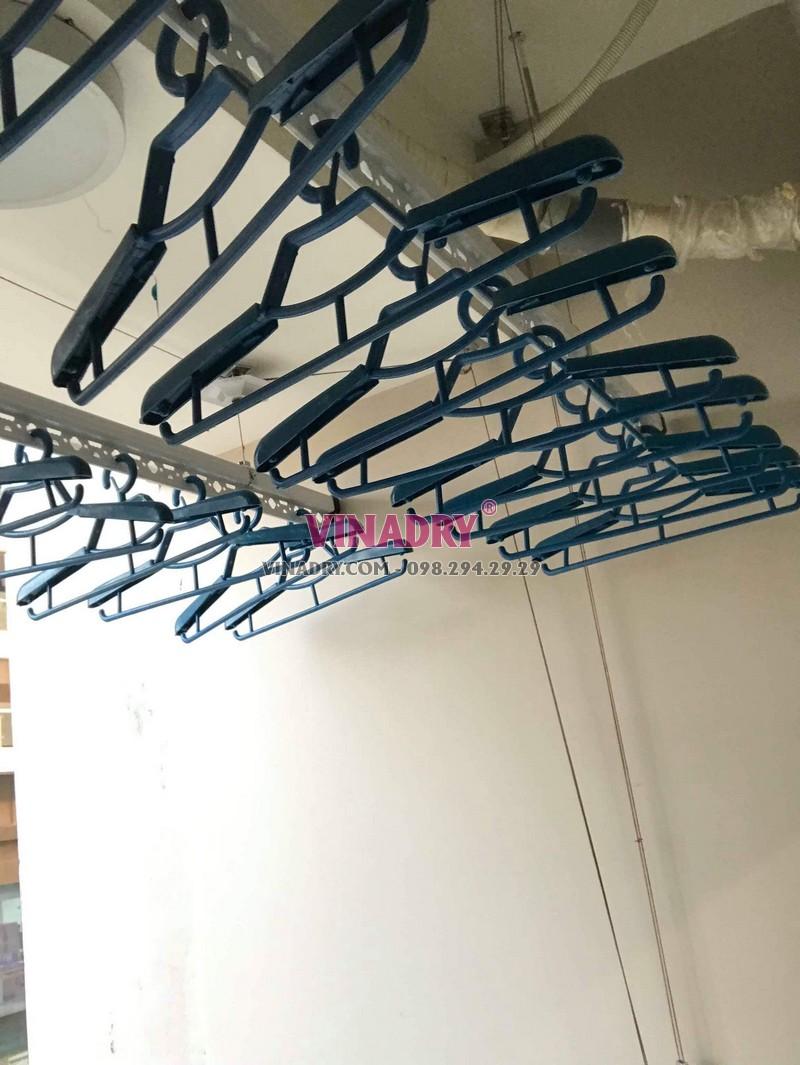Hình ảnh dàn phơi đồ thông minh lắp tại chung cư 47 Nguyễn Tuân nhà chị Hải - 05