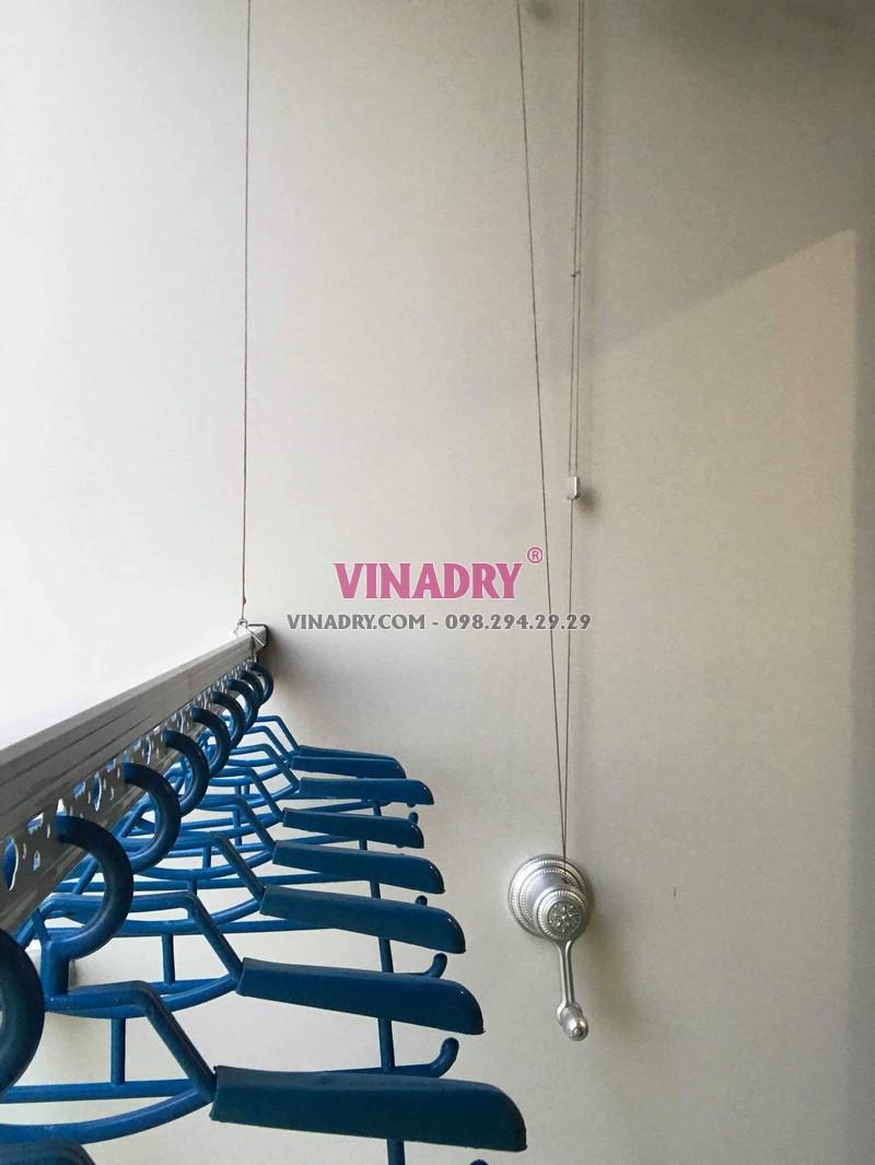 Hình ảnh dàn phơi đồ thông minh lắp tại chung cư 47 Nguyễn Tuân nhà chị Hải - 07