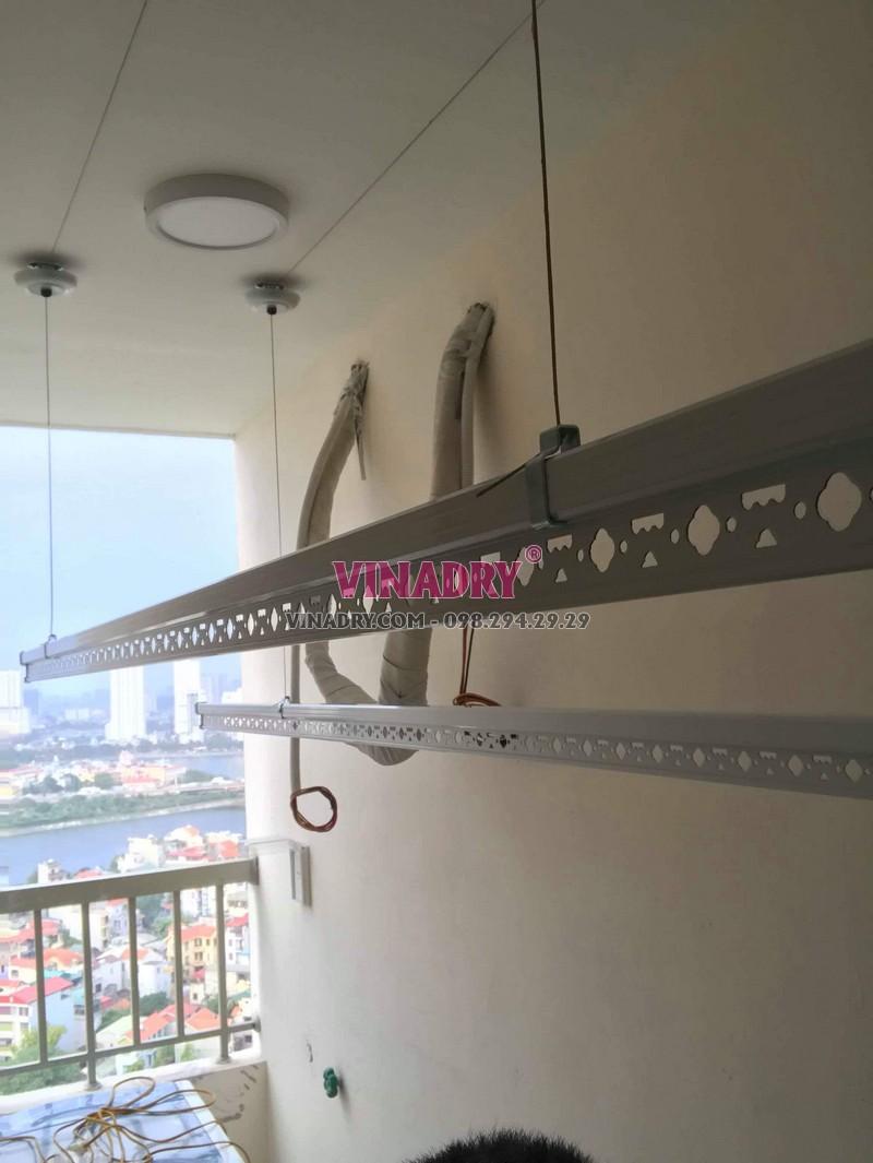 Lắp giàn phơi thông minh Hà Nội bộ giá rẻ KS950 tại chung cư Osaka Complex - 01
