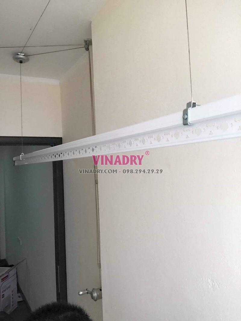 Lắp giàn phơi thông minh Hà Nội bộ giá rẻ KS950 tại chung cư Osaka Complex - 06