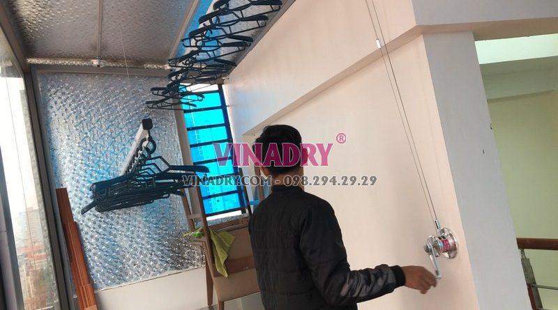 Lắp giàn phơi thông minh tại Cầu giấy, Hà Nội