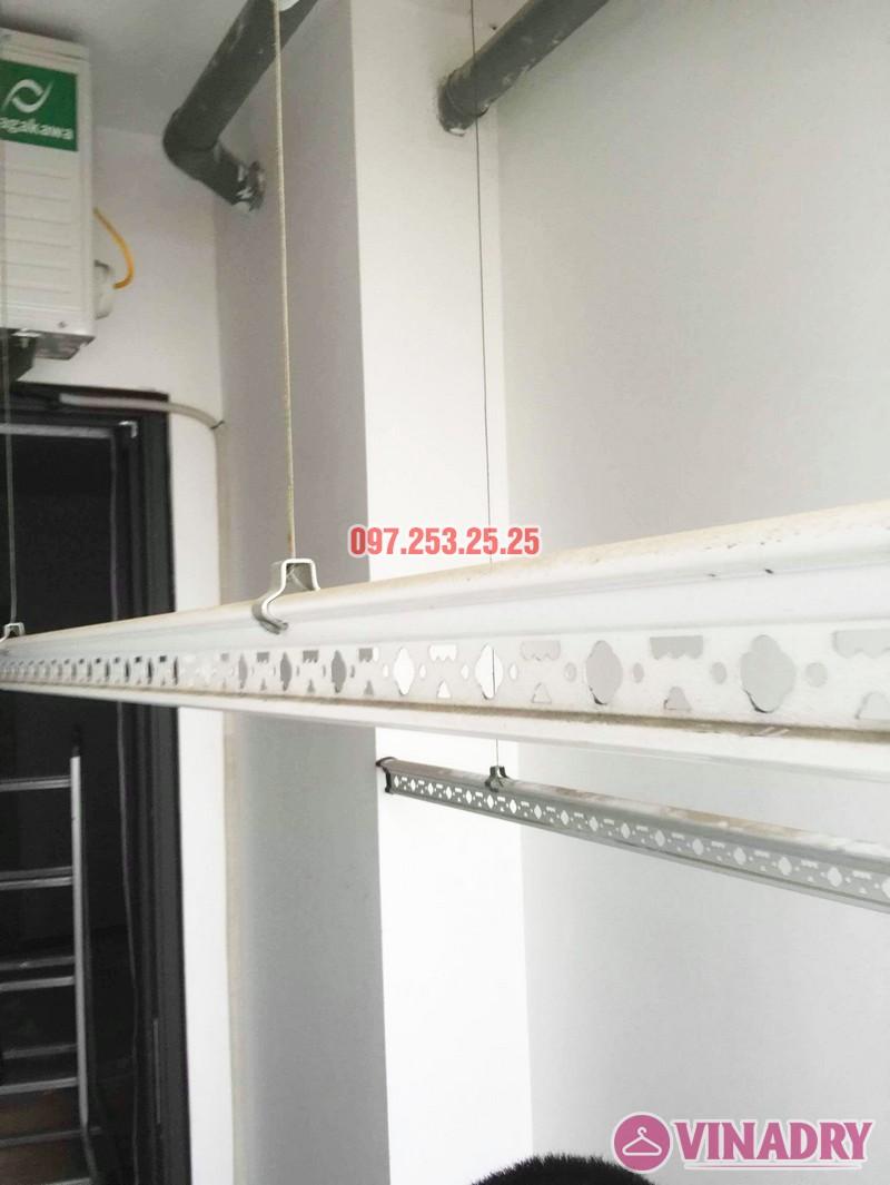 Sửa giàn phơi - thay dây cáp giàn phơi tại chung cư 87 Lĩnh Nam, Hà Nội - 02
