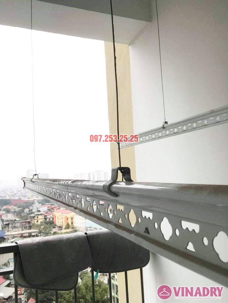 Sửa giàn phơi - thay dây cáp giàn phơi tại chung cư 87 Lĩnh Nam, Hà Nội - 05