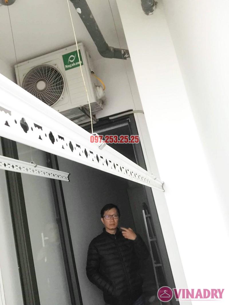 Sửa giàn phơi - thay dây cáp giàn phơi tại chung cư 87 Lĩnh Nam, Hà Nội - 06
