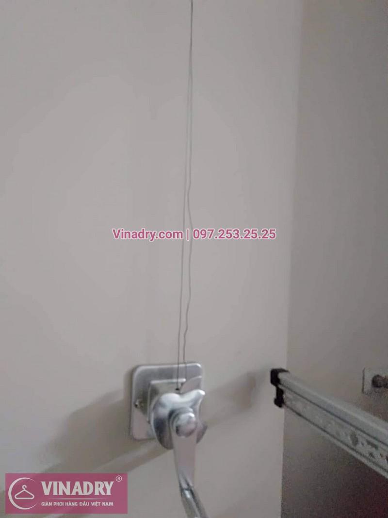 Sửa giàn phơi thông minh Hà Nội nhà chị Lê, ngõ 236 Lê Trọng Tấn, Thanh Xuân - 03
