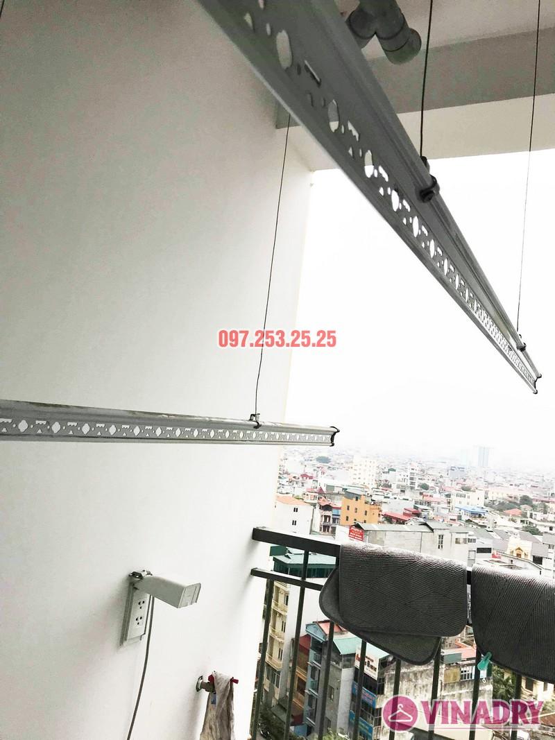 Sửa giàn phơi - thay dây cáp giàn phơi tại chung cư 87 Lĩnh Nam, Hà Nội - 07