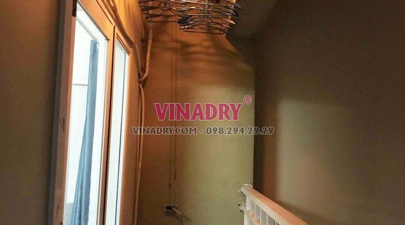 Sửa chữa giàn phơi - thay dây cáp giàn phơi giá rẻ nhà chị Nhi, KĐT Sài Đồng - 05