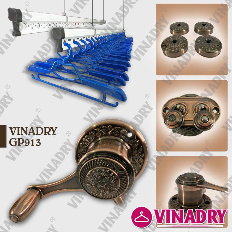 Giàn phơi thông minh VINADRY GP913