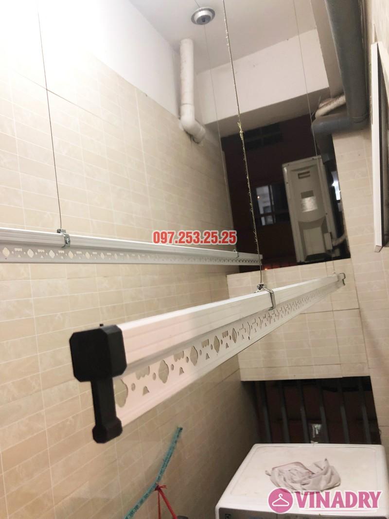 Lắp giàn phơi thông minh Hòa Phát tại chung cư 25 Lạc Trung - 04