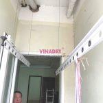 Sửa giàn phơi giá rẻ tại KĐT Kim văn kim lũ nhà anh Thư, tòa CT12C