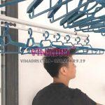 Giàn phơi chống rối dây Vinadry GP971 lắp tại Vinhomes Skylake Phạm Hùng