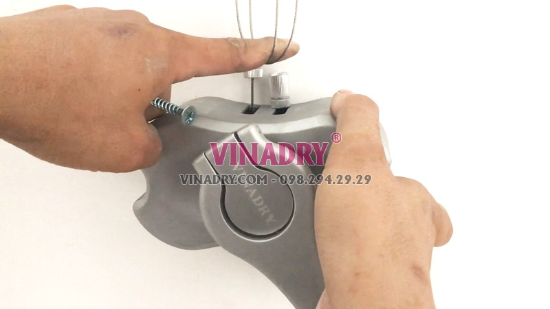 Lắp bộ tời giàn phơi Vinadry gp971
