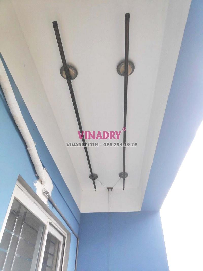 Hình ảnh giàn phơi cao cấp, mẫu mới 2019 Vinadry GP941 lắp tại chung cư C37 Bộ công an - 03