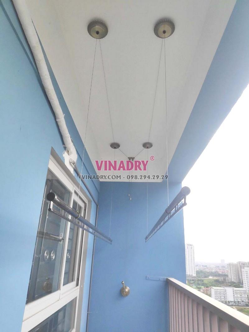 Hình ảnh giàn phơi cao cấp, mẫu mới 2019 Vinadry GP941 lắp tại chung cư C37 Bộ công an - 04