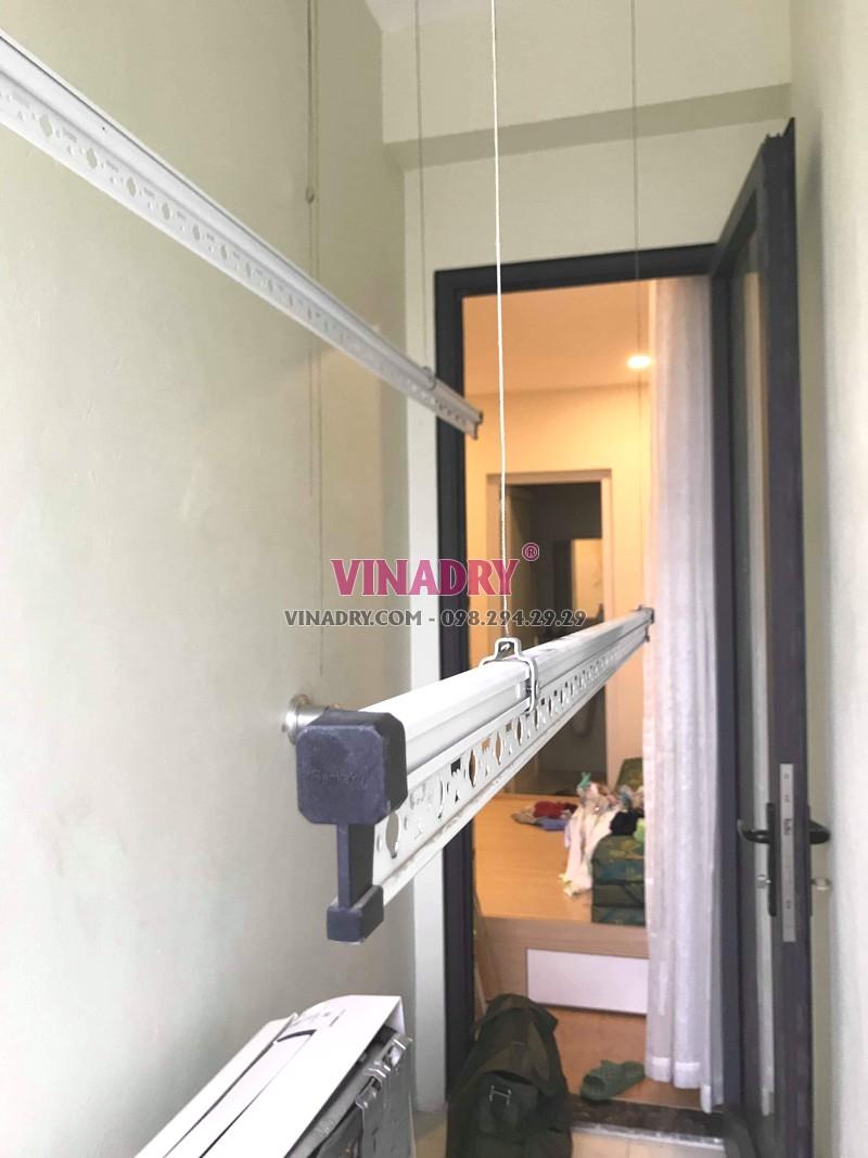 Hình ảnh giàn phơi thông minh giá rẻ KS950 lắp tại nhà anh Vũ, Gelexia Reverside, 885 Tam Trinh - 02