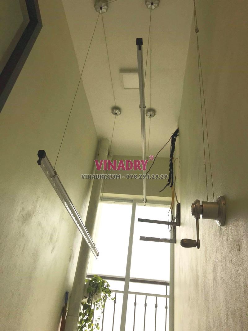 Hình ảnh giàn phơi thông minh giá rẻ KS950 lắp tại nhà anh Vũ, Gelexia Reverside, 885 Tam Trinh - 05