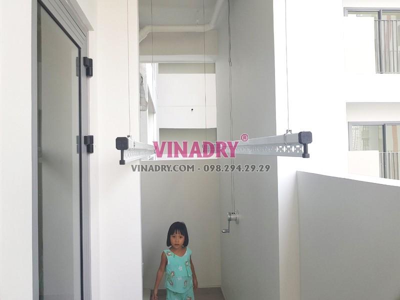 Lắp giàn phơi thông minh tại Quận 9, TPHCM bộ Vinadry GP901 nhà chị Trinh - 01