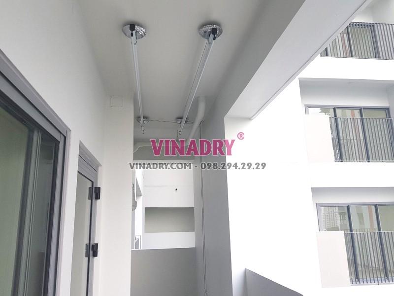 Lắp giàn phơi thông minh tại Quận 9, TPHCM bộ Vinadry GP901 nhà chị Trinh - 03