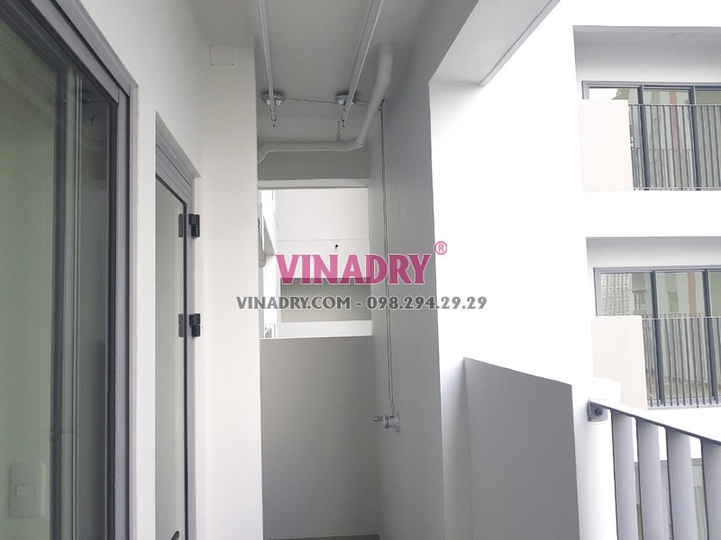 Lắp giàn phơi thông minh tại Quận 9, TPHCM bộ Vinadry GP901 nhà chị Trinh - 06