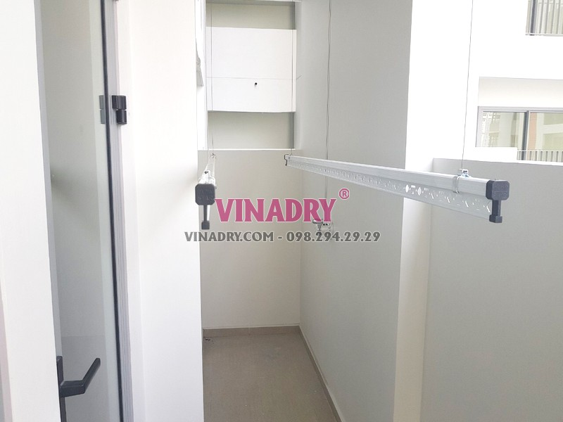 Lắp giàn phơi thông minh tại Quận 9, TPHCM bộ Vinadry GP901 nhà chị Trinh - 07