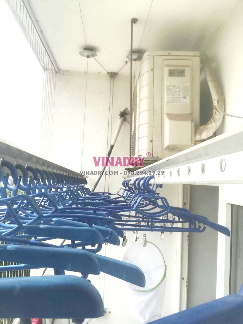 Thay toàn bộ cáp giàn phơi nhà anh Đoàn, chung cư PCC1 Complex, Hà Đông, Hà Nội - 06