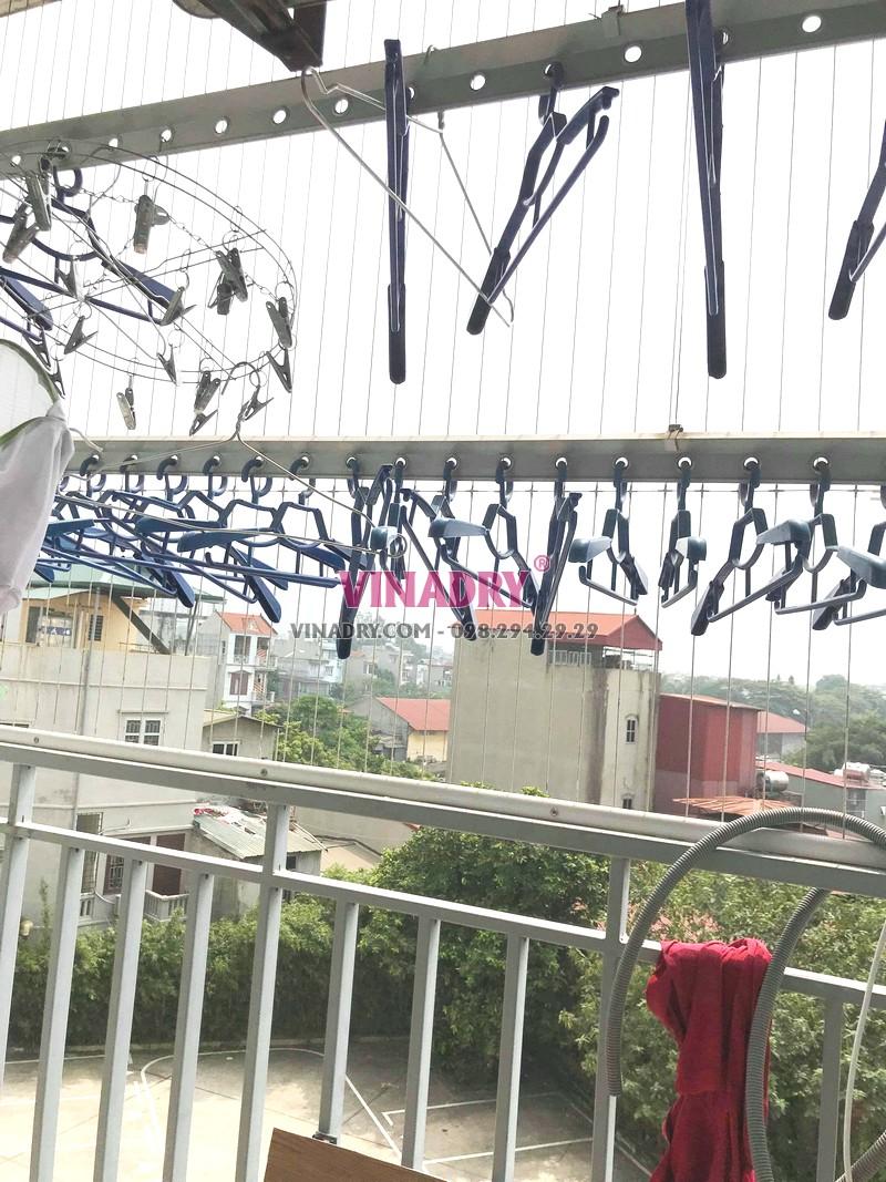 Thay toàn bộ cáp giàn phơi nhà anh Đoàn, chung cư PCC1 Complex, Hà Đông, Hà Nội - 01