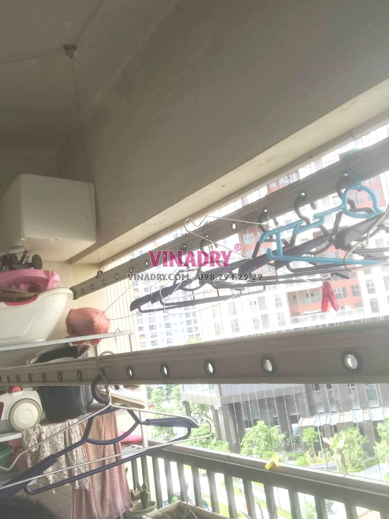 Sửa giàn phơi tại Hà Đông nhà chị Tú, chung cư CT3 Văn Khê - 03